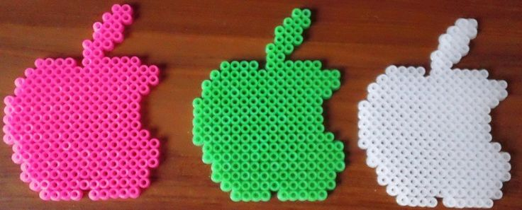 DeviantArt: More Like Finished Apple MAC Logo Perler Beads by ...
