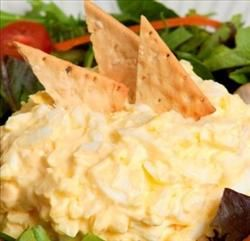 Egg Salad Dip | Super Satisfying & Creamy | Only 59 Calories/ Serving |Simple Ingredients, Protein-Packed Snack | #EBeggs #client