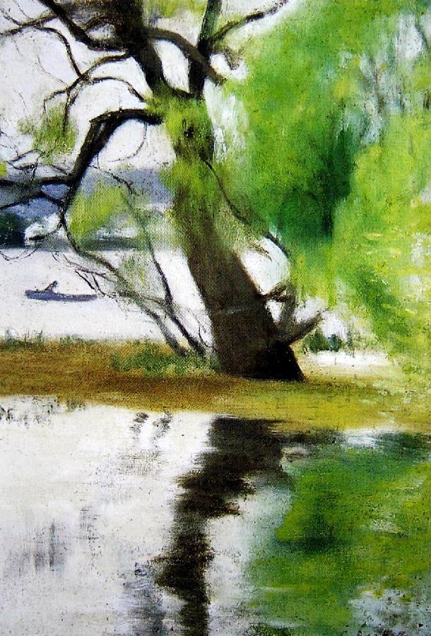 Clarice Marjoribanks Beckett, River Landscape