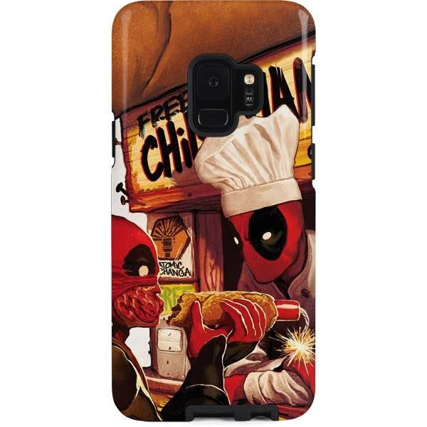 d9f2c84a2f67 The Deadpool Chimichangas Galaxy S9 Pro Case from Skinit provides maximum  protection from everyday drops