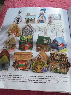 Junk and Jewels: Cloth Paper Scissors Challenge - Mini Houses