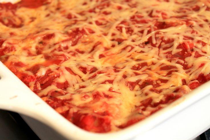 Healthy Vegetarian lasagna