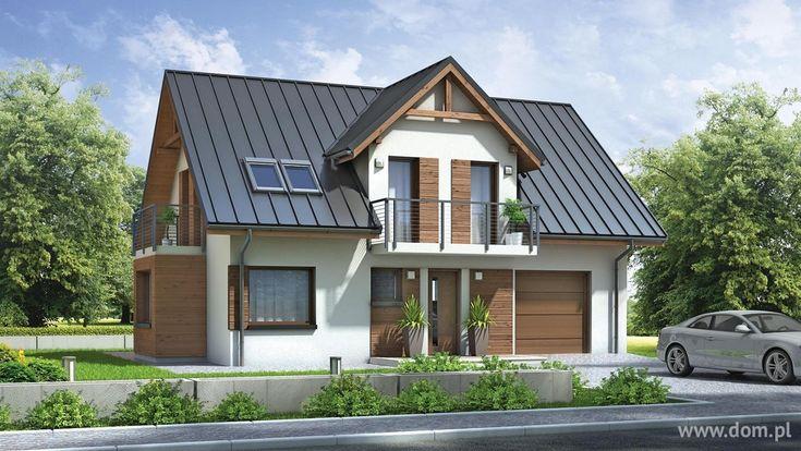 DOM.PL™ - Projekt domu Mój Dom Renata CE - DOM BM1-10 - gotowy projekt domu