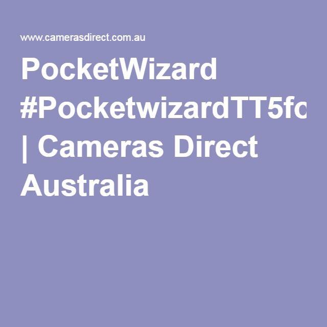 PocketWizard #PocketwizardTT5forCanon | Cameras Direct Australia