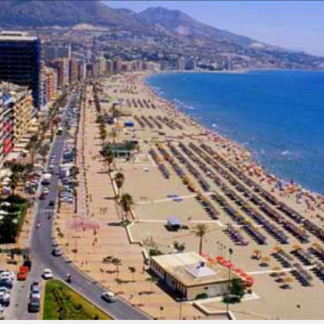 Fuengirola, Spain One of the most gorgeous beaches in the Mediteranian.