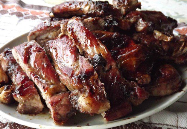 Sticky and Sweet Pork Ribs