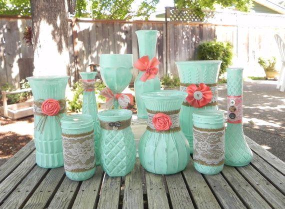 Vase Wedding Decoration Ideas: 25+ Best Ideas About Vase Decorations On Pinterest