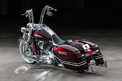Harley Davidson Road King 2011 Custom Cholo Style Touring Bagger Candy Brandywine