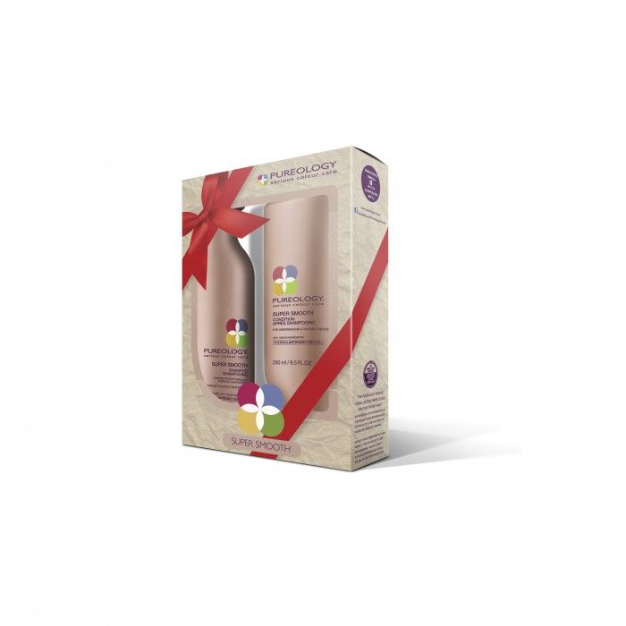 Pureology Super Smooth Shampoo And Conditioner Pack 2 X 250ml