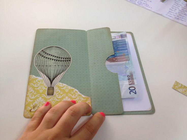 tarjeta porta dinero foto