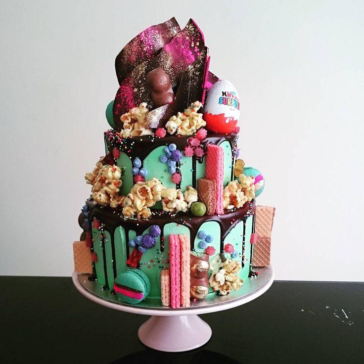 And it belonged on this Hero Cake