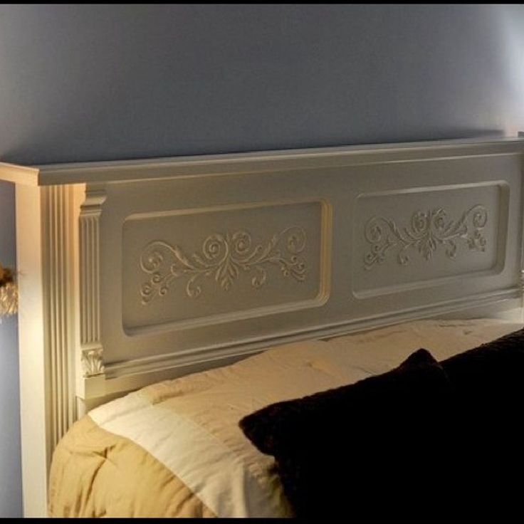 How to repurpose an old piano into a king size headboard?