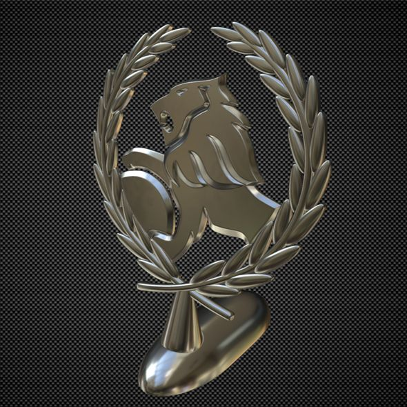 Holden Hood Ornament Fully Editable And Reusable 3d Model Of A