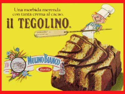 Tegolino Mulino Bianco anni '80