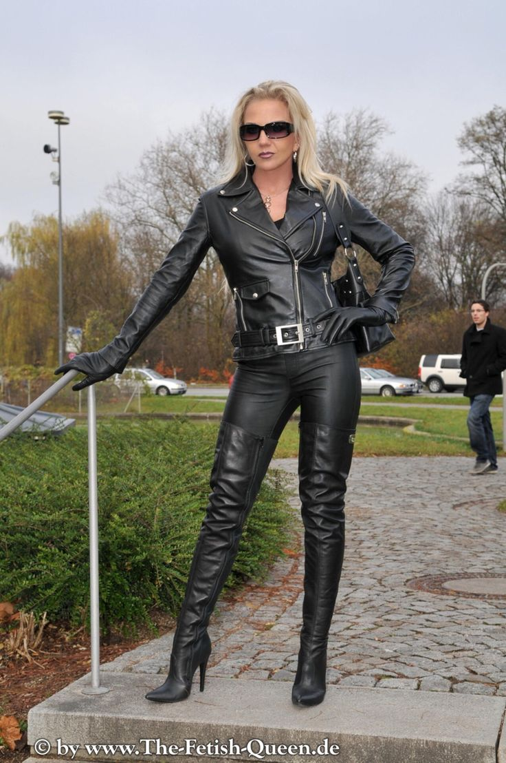 My Queen Heike  Leather  Leather Catsuit, Leather Und -4210