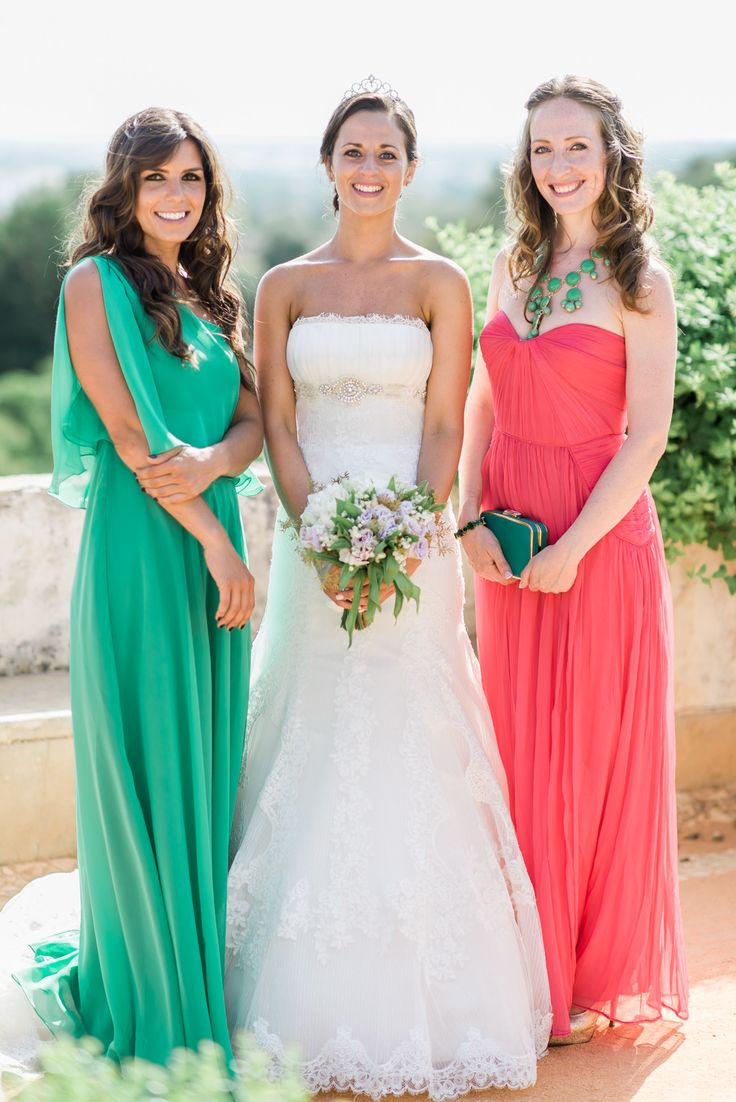 25 best bridesmaid dresses images on pinterest bridesmaids bridesmaids gowns in striking colors see more on smp here http ombrellifo Images