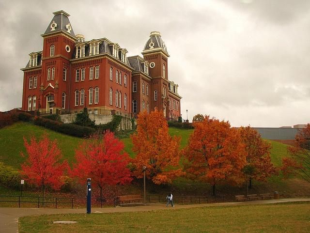 Woodburn Hall, West Virginia University (Kerry Wixted)