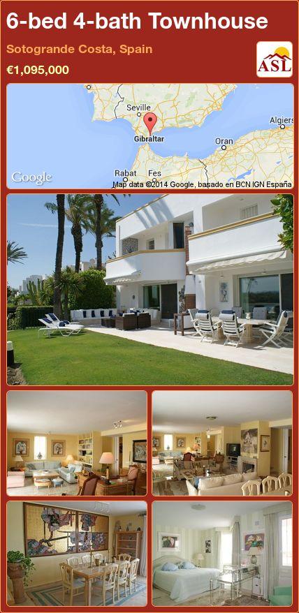 6-bed 4-bath Townhouse in Sotogrande Costa, Spain ►€1,095,000 #PropertyForSaleInSpain