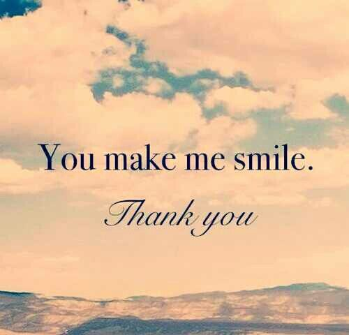 Best Quotes On Smile For Friends: You Make Me Smile Quote