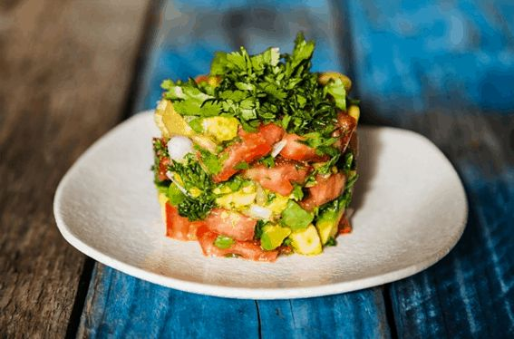 Tomato and Avocado Tartare