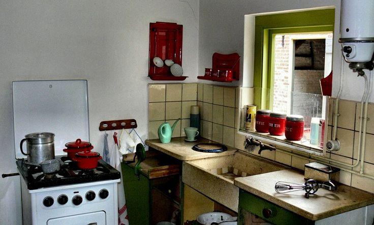 Afdeling nostalgie: keuken uit de jaren 50.