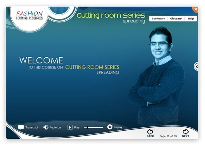 E-Learning Interface by Nitin Singh at Coroflot.com