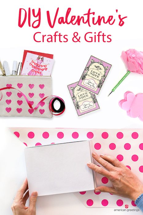 Sometimes the best gifts to receive are made with love and by hand. We're here to help you realize your creative potential with DIY craft ideas that make fun, thoughtful Valentine's Day gifts for the special people in your life. From crafts for your kids, grandparents, significant other, and more; we have plenty of DIY craft ideas for you.