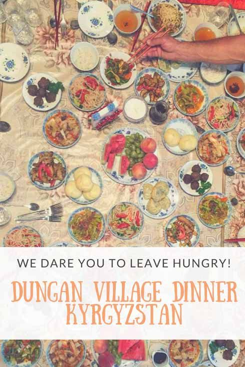 We dare you to leave hungry! Eat your fill and discover Dungan culture and cuisine in a Dungan dinner experience near Karakol! #DiscoverKyrgyzstan