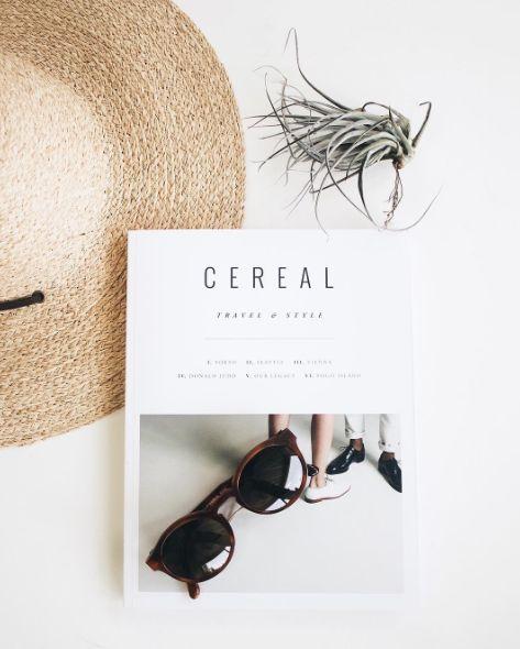 Yellow 108, Cereal Magazine, Capital Eyewear