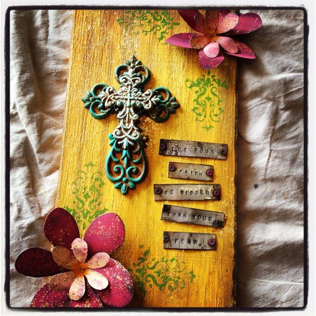 224 best cross ideas images on Pinterest | Wooden art, Cross art and ...