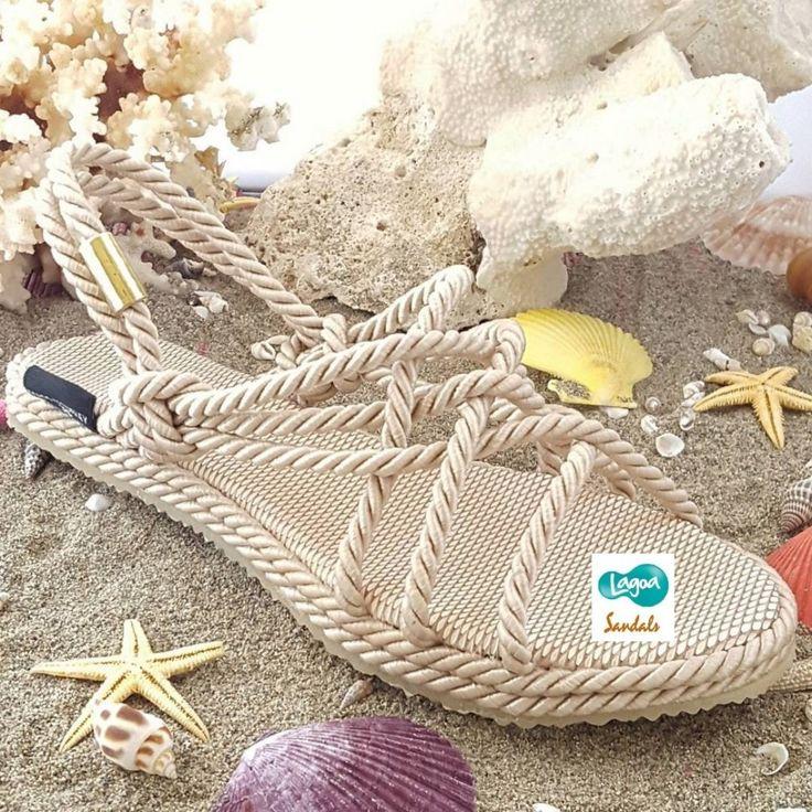 Lagoa Hasır Sandalet