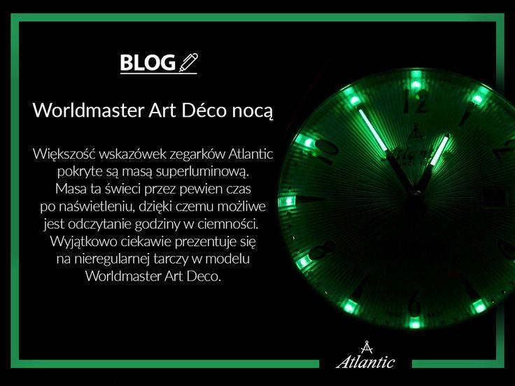 Masa superluminowa ma przede wszystkim pomagać odczytać czas w ciemności, jednak w modelu Worldmaster Art Deco sprawia, że jest on jeszcze ciekawszy wizualnie.  Przeczytajcie więcej o tym modelu na naszym blogu.