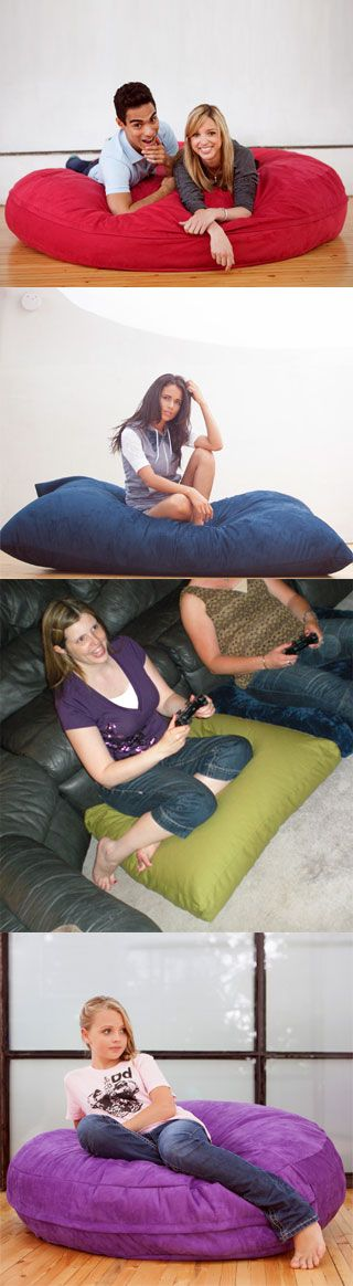 Large Lounge Floor Pillows : 17 Best ideas about Oversized Floor Pillows on Pinterest Throw pillow covers, Diy throw ...