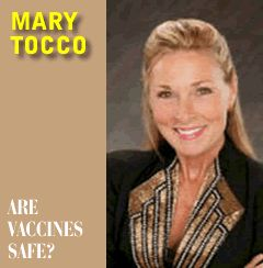 Mary Tocco -- Vaccines Side Effects - The DTaP Vaccine
