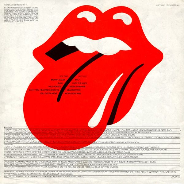 It was designed by John Pasche, who used Mick Jagger as the inspiration. Description from grayflannelsuit.net. I searched for this on bing.com/images