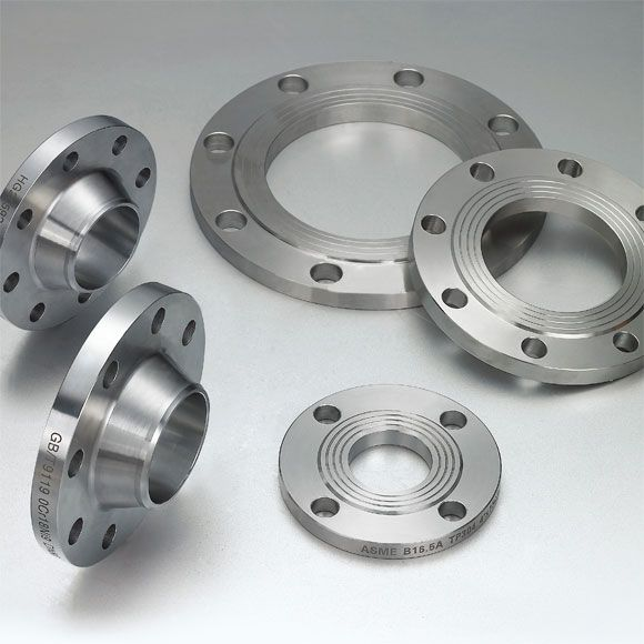 Stainless Steel Flanges:- Suraj Limited - Renowned Manufacturer, Supplier and Exporter of Stainless Steel Flanges and Fittings for Industries like Nuclear Power Plants, Oil & Gas, Petrochemical & Refinery, Chemical & Fertilizer,Power Plant & All major process industries.