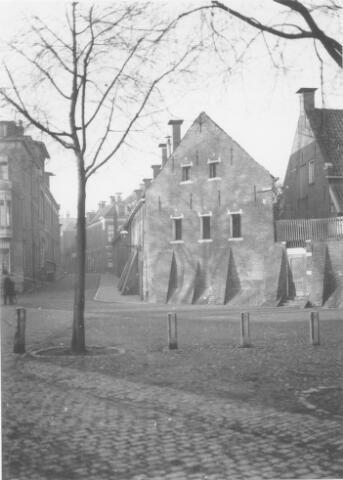 1930: Kattendiep met inkijk Kleine Peperstraat