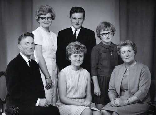 My grand parents,my father and my tre aunts 1968