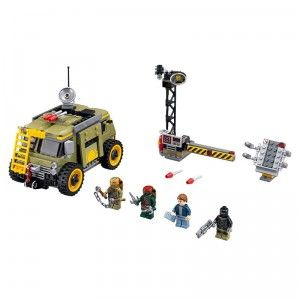 LEGO Ninja Turtles Turtle Van Takedown from LEGO