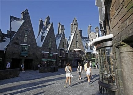 Harry Potter at Universals Studios in Orlando