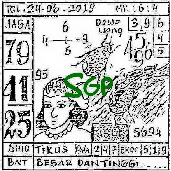 SGP MINGGU — Hartap73   SGP MINGGU