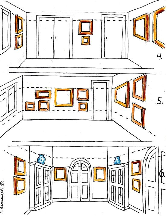 How To Hang Wall Art 65 best creating multi-framed wall art images on pinterest