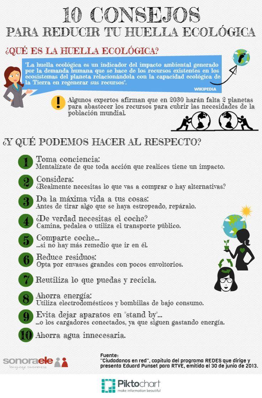 10 Consejos para reducir tu huella ecológica #ecoretos #estudiantes #umayor