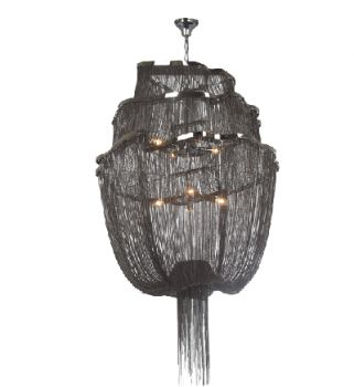 Black Chain Blythe Chandelier from Shop Ten 25