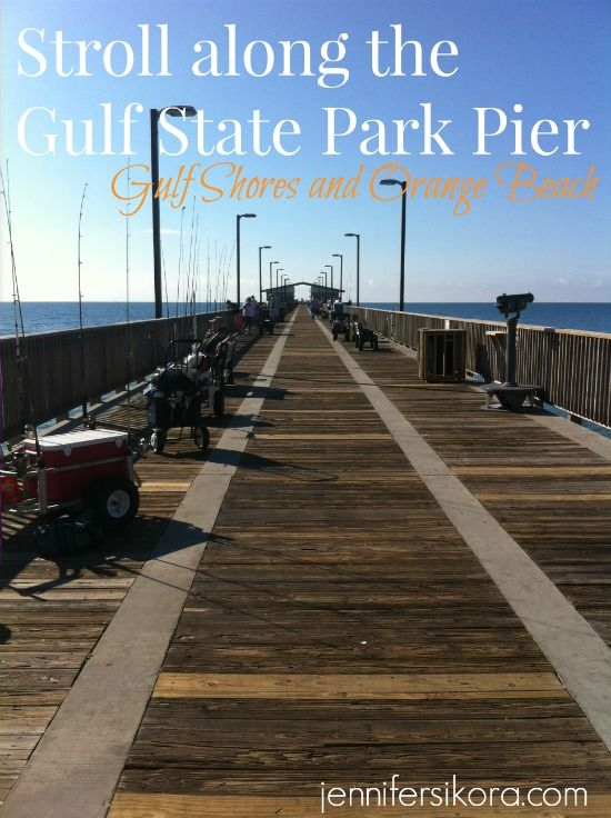 Gulf State Park Pier in Gulf Shores and Orange Beach Alabama - The perfect place for a romantic stroll #AlBeachBlogger