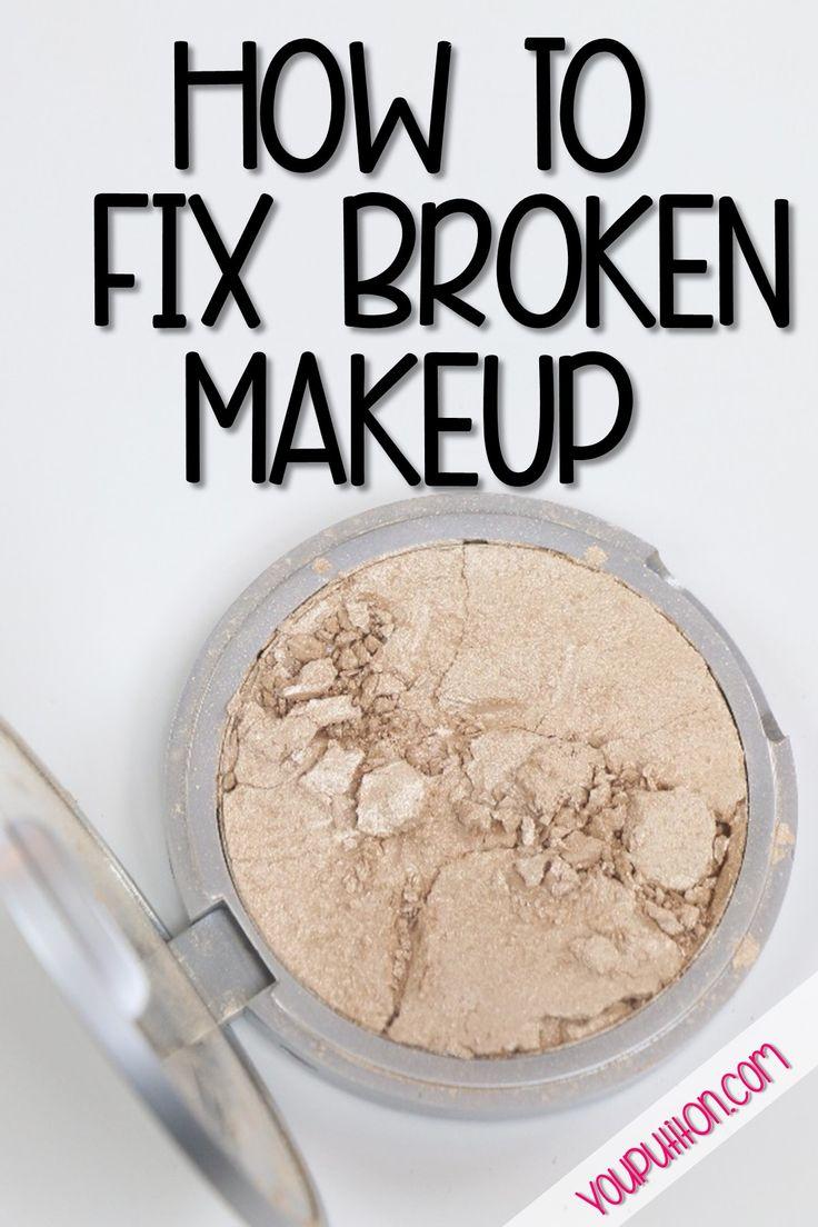 How to Fix Broken Makeup Powders