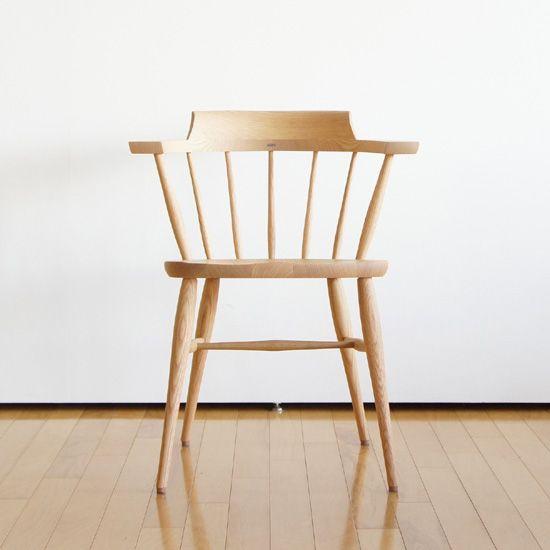 SC3Aクラウンチェア(O) - 無垢テーブルや椅子、ソファのことなら静岡の無垢家具専門店フォルムス