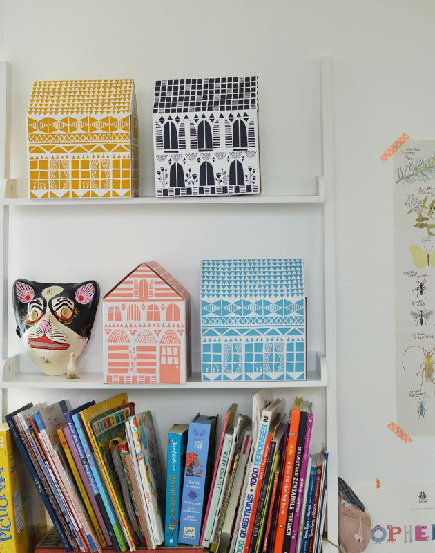 House boxes by Famille Summerbelle
