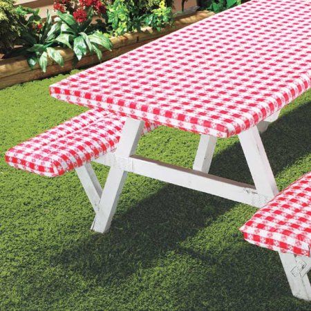 Deluxe Picnic Table Cover (Set Of 3)   Walmart.com