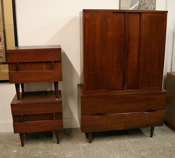 46 best images about furniture american of martinsville for American walnut bedroom furniture